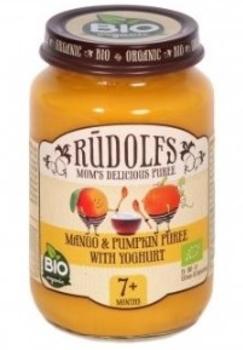 Пюре Rudolfs Десерт з манго і гарбуза з йогуртом, 190 р. (090447)