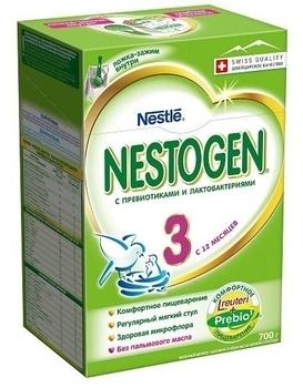 Сухая молочная смесь Nestogen Prebio 3, 700 г (002122)