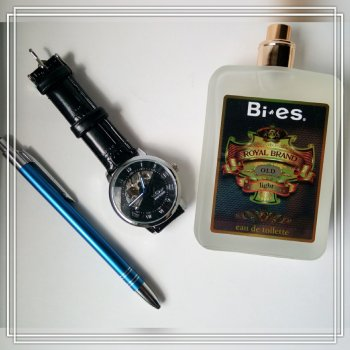 Туалетная вода для мужчин Bi-es Royal Brand Gold Tabac - Original 100 мл (5906513002539)