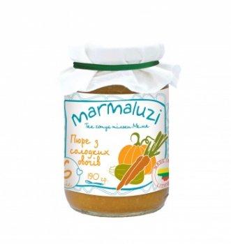 Пюре Marmaluzi з солодких овочів, 190 г (064559)