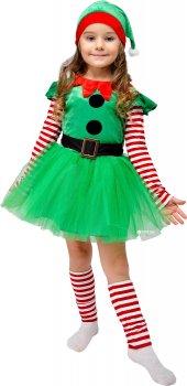 Карнавальный костюм Сашка Рождественский Эльф НГ-144 104 см Зеленый (971620)