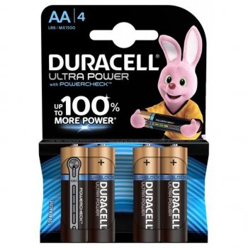 Батарейка Duracell AA Ultra Power LR6 * 4 (5004805)