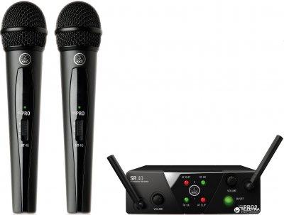 Радіосистема AKG WMS 40 Mini 2 Vocal Set BD US45A/C EU/US/UK (660.700, 662.300) (225204)