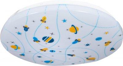 Світильник настінно-стельовий світлодіодний Гаусса Orbit, 14 м2 малюнок космос