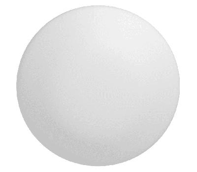 Світильник світлодіодний Гаусса IP20 D300*110 15W 800lm 4000K DECOR білий
