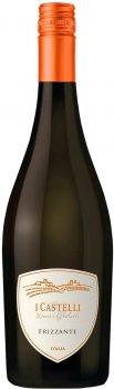 Вино ігристе Castelli Bianco Frizante біле екстра сухе 0.75 л 11% (8008900008074)