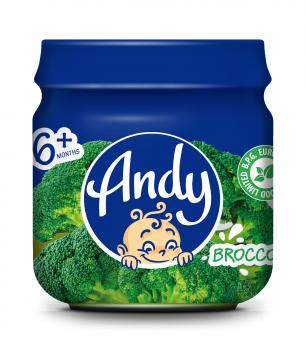 Пюре Andy Брокколі, 80 г (286843)