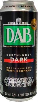Упаковка пива DAB темное фильтрованное 4.9% 0.5 л x 24 шт (4053400188430)