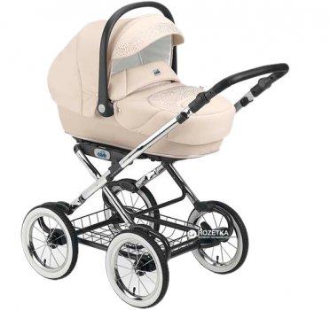 Универсальная коляска Cam Linea Classy Tris 3 в 1 Молочная (908/583)