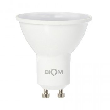 Светодиодная лампа BIOM BT-572 MR16 7W GU10 4500K (Рефлектор)