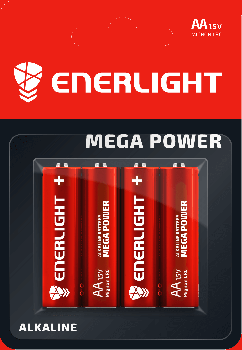 Батарейка Enerlight Mega Power AA 4 шт (90060104)