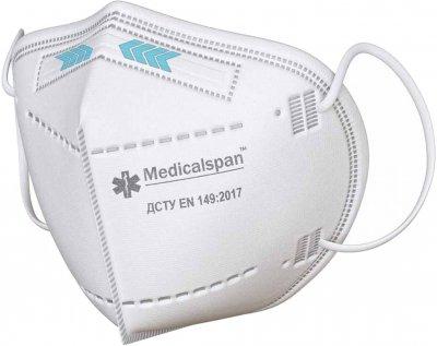 Респіратор Medicalspan FFP3 10 шт. (Б203010)