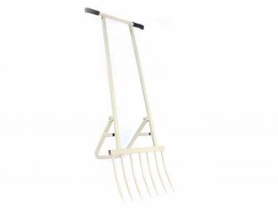 Диво лопата для збільшення продуктивності праці 7 зубців (сіра) ДМ, з високоміцної сталі