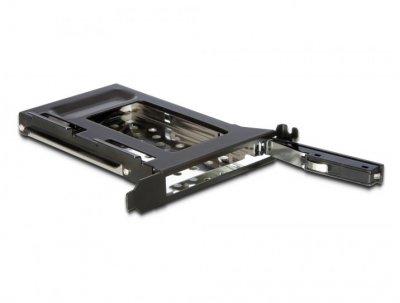 Корпус накопичувача Delock SATA 22p (кишеня) слотовий для 1x2.5 HDD 9.5mm чорний(70.04.7192)