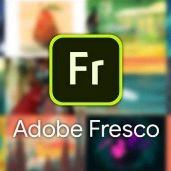 Adobe Fresco for enterprise. Ліцензія для комерційних організацій, річна передплата на одного користувача в межах замовлення від 1 до 9 (65303288BA01A12)