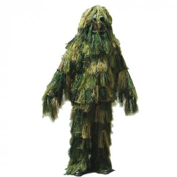 Маскировочный снайперский костюм гилли Condor Ghillie Suit Set Woodland, Medium/Large