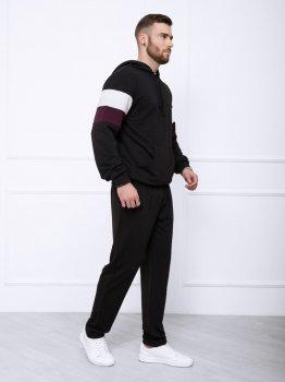 Спортивний костюм ISSA PLUS GN-415 Чорний