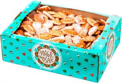 Печенье сдобное Чарівна мозаїка Творожка 3 кг (4820163110035)