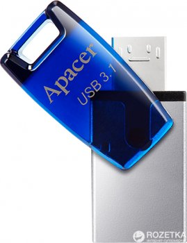 Apacer AH179 64GB OTG Mobile Blue (AP64GAH179U-1)