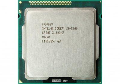 Процесор LGA 1155 Core i5 2500 4/(4)x3.7 GHz/6 MB Б/У