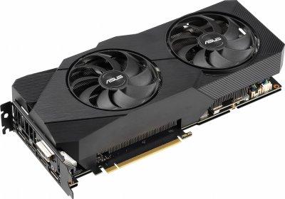 Asus PCI-Ex GeForce RTX 2060 Super Dual EVO V2 8GB GDDR6 (256bit) (1470/14000) (DVI, DisplayPort, 2 x HDMI) (DUAL-RTX2060S-8G-EVO-V2)