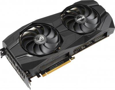 Asus PCI-Ex Radeon RX 5500 XT ROG Strix Gaming OC 8GB GDDR6 (128bit) (1737/14000) (HDMI, 3 x DisplayPort) (ROG-STRIX-RX5500XT-O8G-GAMING)