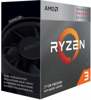 Процесор AMD Ryzen 3 3200G 3.6 GHz 4MB AM 4 BOX (YD3200C5FHBOX)