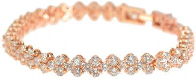 Браслет Traum 4227-60 Розово-золотистый