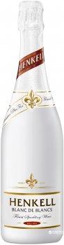 Вино ігристе Henkell Blanc de Blancs біле сухе 0.75 л 11.5% (4003310164505_4003310012042)