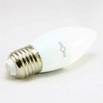 Світлодіодна лампа Biom BT-567 C37 6W E27 3000К матова (131684)