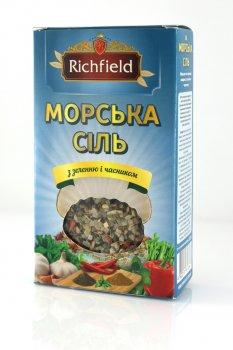 """Морская соль с зеленью и чесноком 200г ТМ """"Richfileld"""""""