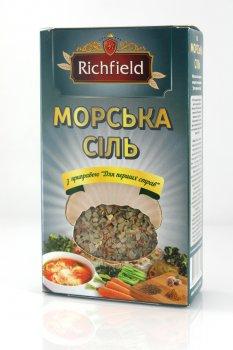 """Морская соль с приправой к первым блюдам 200г ТМ """"Richfileld"""""""