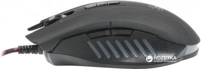 Миша Bloody Q81 Neon XGlide Q8181S USB Black з ігровою поверхнею Black (4711421931052)
