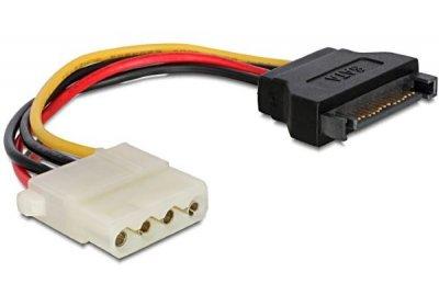 Шлейф живлення Cablexpert CC-SATA-PS-M (Molex) F + SATA 150 мм