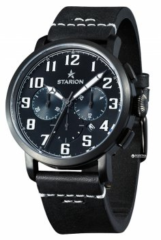 Мужские часы STARION B724A.02 Black/Black Bl