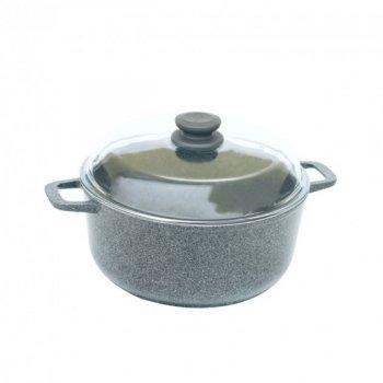 Кастрюля БИОЛ Granite Gray 2л с крышкой (K204PC)
