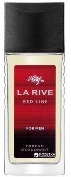 Парфюмированный дезодорант для мужчин La Rive Red Line 80 мл (5906735232639)