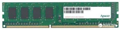 Оперативна пам'ять Apacer DDR3-1600 4096MB PC3-12800 (DG.04G2K.KAM)
