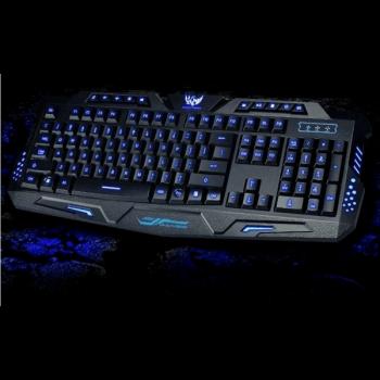Профессиональная игровая USB клавиатура с 3-мя режимами подсветки Atlanfa M200 Original (7251)