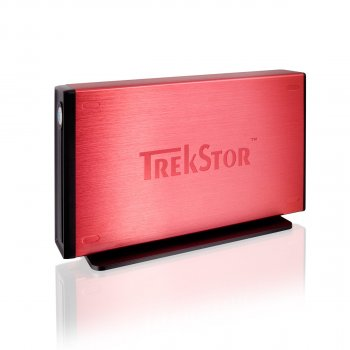 "Жорсткий диск Trekstor DataStation maxi m.ub 3.5"" 640Gb USB 2.0 Red (TS35-640MMUR) Refurbished"