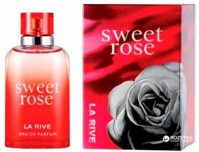 Парфюмированная вода для женщин La Rive Sweet Rose 30 мл (5906735231106)