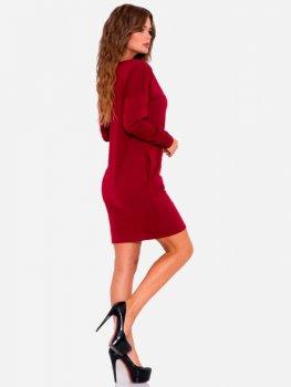 Платье ISSA PLUS 10188 бордовое