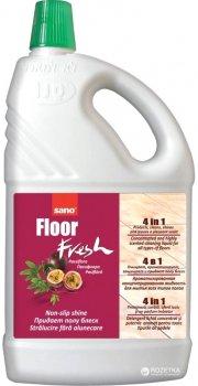 Средство ароматизированное для мытья пола 4 в 1 Sano Fresh Пасифлора 2 л (7290003015634)