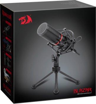 Микрофон Redragon Blazar GM300 USB подставка (77640)