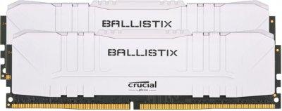 Оперативная память Crucial DDR4-2666 16384MB PC4-21300 (Kit of 2x8192) Ballistix White (BL2K8G26C16U4W)