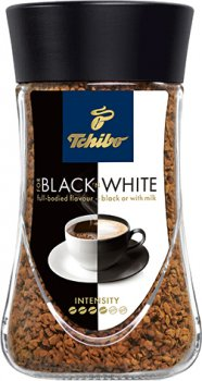 Кофе растворимый Tchibo Black n White 200 г (4046234794885)
