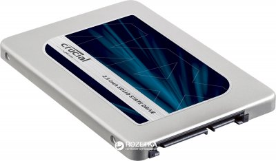 "Crucial MX500 500GB 2.5"" SATAIII 3D TLC (CT500MX500SSD1)"
