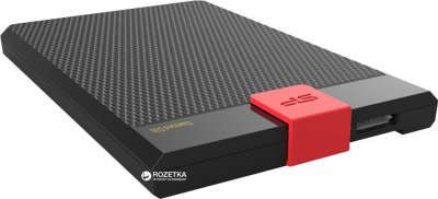 """Жорсткий диск Silicon Power Diamond D30 2TB 5400rpm 8MB SP020TBPHDD3SS3K 2.5"""" USB 3.1 External Black"""