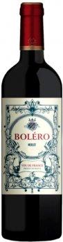 Вино Bolero Merlot красное сухое 0.75 л 12.5% (3423290075911)