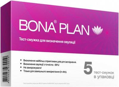 Тест полоска для определения овуляции Bona Plan 5 шт (4820058970041)